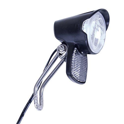 Spanninga koplamp Brio by 6 V 2,4 W, voor naafdynamo met schakelaar