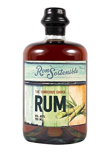 Ron Sostenible Rum   40% Premium Dunkler Rum, 8 Jahre (1 x 0.7 l)