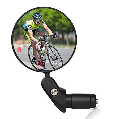 Specchietti per Bicicletta Tubo Flessibile Specchio Retrovisore 360 Gradi Regolabile Specchietto da Bicicletta Grandangolari Specchi retrovisori Universale for Bicicletta Bici elettrica Scooter Motori