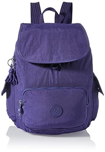 Kipling City Pack S, Zaini Donna, Blu (Galaxy Blue), One Size