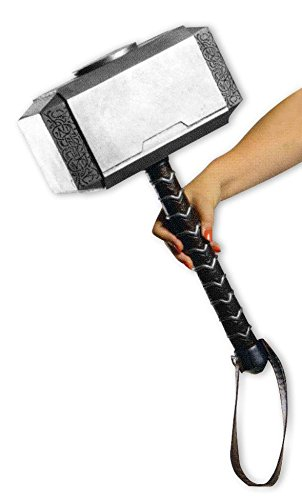 Close Up Marvel Thor's Hammer Mjölnir, für Erwachsene
