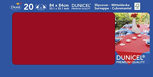 Dunicel-Mitteldecke 84x84cm rot 20 St VE=1