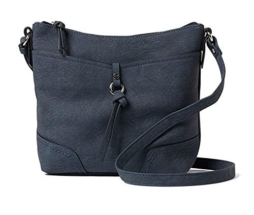 TOM TAILOR bags IMERI Damen Umhängetasche S, blue, 28x8,5x25