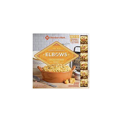 Member's Mark Elbow Macaroni Pantry Pack 1 lb. bag, 6 ct. A1