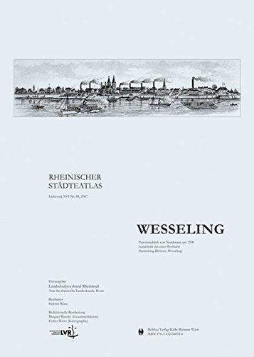 Wesseling (Rheinischer Städteatlas, Band 88)