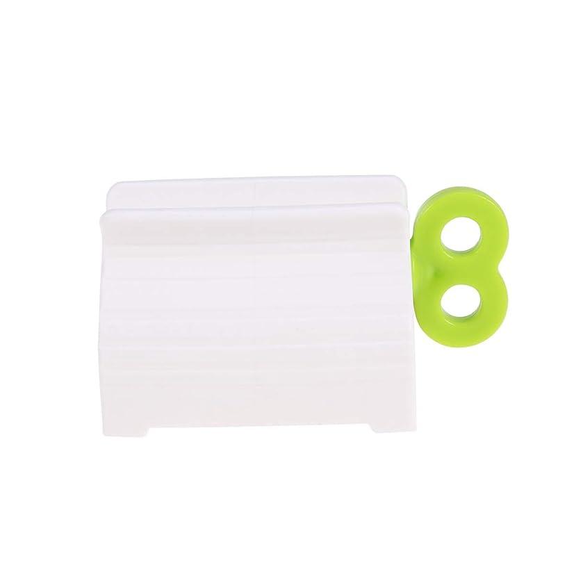 自分ゆるく図SUPVOX ローリングチューブ歯磨き粉スクイーザディスペンサー歯磨き粉シートホルダースタンド