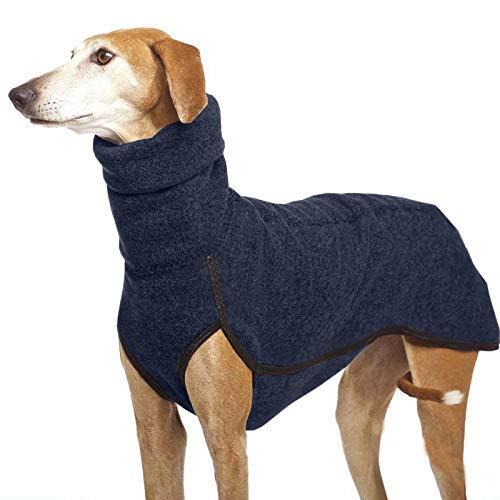 LIUCHANG Collar mediano grande para perros grandes, gran danés, galgo, Pitbull, ropa para mascotas (color: azul marino, tamaño: 4XL) liuchang20
