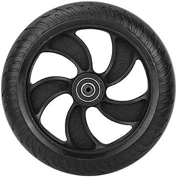 Verdelife Ruedas Macizas para Patinete Electrico Rueda de Kugoo S1 S2 S3 de 8 pulgadas, cubo trasero y neumáticos de repuesto accesorios