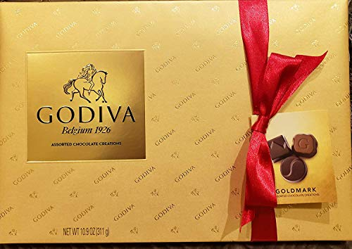 Godiva Belgium Goldmark Assorted chocolate 109 OZ