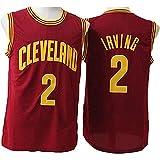 XSJY Jersey Men's NBA Cavaliers 0# Kevin Love Baloncesto Entrenamiento Ropa Deportes Y Ocio Secado Rápido Vestido Sin Mangas,B,XL:180~185cm/85~95kg