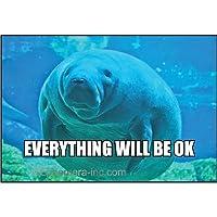 Everything Will Be Ok–長方形マグネット