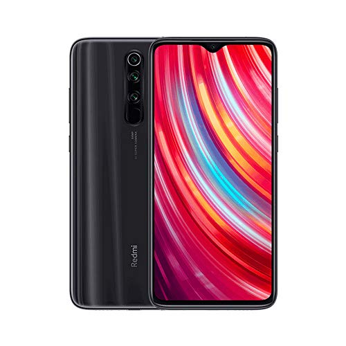 "Xiaomi Redmi Note 8 Pro Phone 6GB RAM + 128 GB ROM, 6.53""Full Screen, Helio G90T Octa-Core MTK CPU, 20MP Front e 64MP AI Four Mobile Camera Camera Posteriore Versione Globale (Nero)"