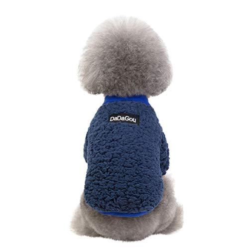 Bluelucon nieuwe huisdier-normale lak gebreide jas herfst en wintermode houden warme nieuwe vaste gebreide jas van huisdier herfst- en wintermode-kat en hondenkleding