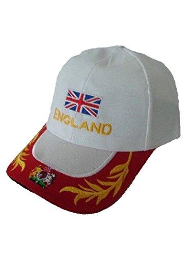 Armardi e Casquette de baseball England Blanc
