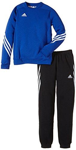 adidas Unisex - Kinder Trainingsanzug Sere14 Sweat Y, bold blau/weiß, 116, F81931