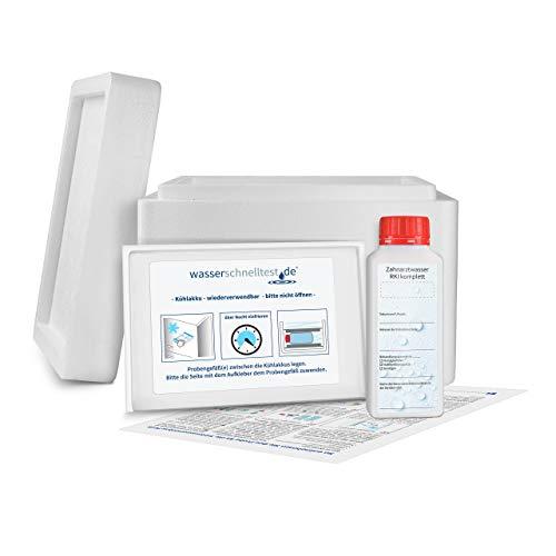 Wassertest für zahnärztliche Behandlungseinheiten RKI komplett (Legionellen, Koloniezahl, Pseudomonas spp. / aeruginosa)