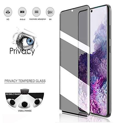 Panzerglas Privacy Screen Ersatz für Samsung Galaxy S20 Plus 6,7 Zoll Anti-Spy Schutzfolie, 9H Gehärtetem Glas Folie Abdeckung Displayschutzfolie Panzerglasfolie Blickschutzfolie