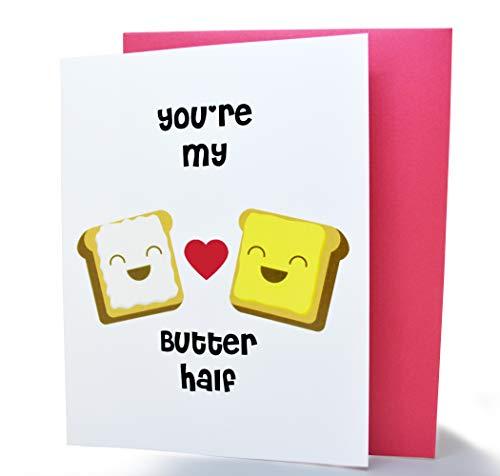 Birdo Greetings - Handmade Bread and Butter Anniversary Card