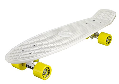 Ridge Skateboard Big Brother Nickel 69 cm Mini Cruiser, Glow/gelb