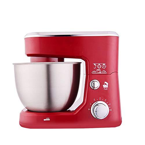 Elektrische Mixer, 4L Elektrische Roestvrijstalen Kom Stand Food Mixer Cream Blender Het Kneden Van Deeg Cake Brood Chef Machine Whisk Eieren Whisk