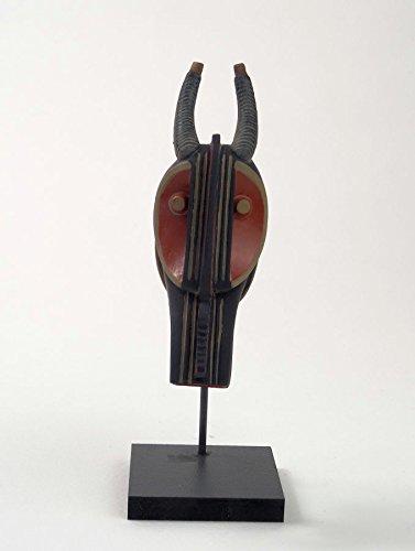 Pixi Museum–Afrika–masque-heaume Baule (Hörnern)–Côte d 'Ivoire