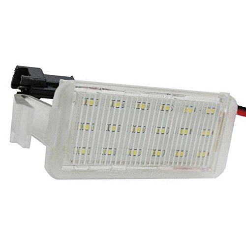 GOFORJUMP 2 Pcs Voiture 18 LED Licence Plaque Numéro Lampe Lampe pour F/ord F/Alcon FG BA/BF XR 6/8 2003-2008 CSL2018