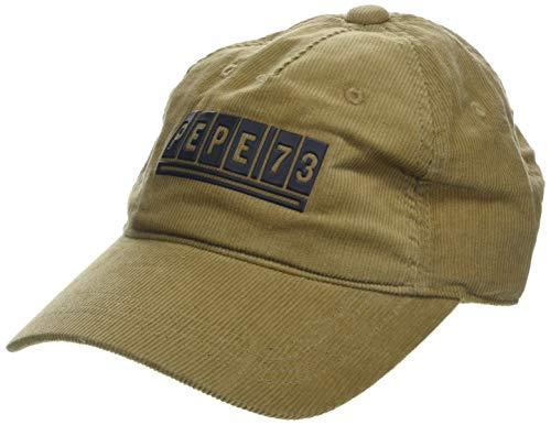 Pepe Jeans ITSU Cap Gorra de béisbol, Marrón (Khaki Brown 858), Talla Unica (Talla del Fabricante: 000) para Hombre