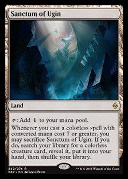 Magic The Gathering - Sanctum of Ugin (242/274) - Battle for Zendikar...