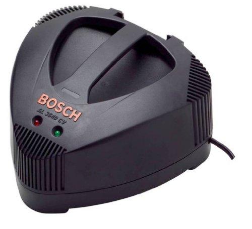 Bosch AL3640CV 2607225102 Batterieladegerät, 36V, für Bosch 36V Li-Batterien in Rotak 34Li, 37Li, 43Li Rasenmäher und 36V Bohrmaschinen, UK 3-Pol Stecker