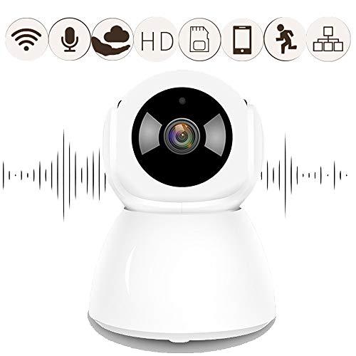 FTSUI 1080P FHD draadloze IP-camera met 350 ° draaien, met bewegingsdetectie, Cloud opslag 7 * 24 uur, Two Way Audio, Indoor Baby/Huisdier Monitor