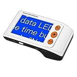 Eyoyo 3.5 Pouces Loupe Electronique Aides à la Lecture Electroniques Numerique Portable Ecran LCD pour Basse Vision 2x-25x Zoom avec Poignée Pliable(3.5 pouces avec Poignée Pliable)