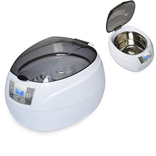 Ultraschallreiniger Reinigungsgerät Digital Edelstahl Ultraschallbad mit Uhrenhalter und Reinigungskorb für Brillen Schmuck Uhren 750ml 42KHz 35W