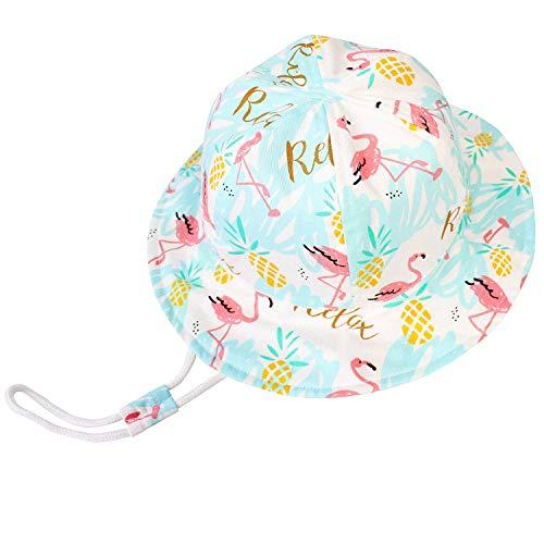 Sun Protection Cap Infant Toddler Wide Brim Bucket Hats Zando Baby Sun Hat Kids Summer UPF 50