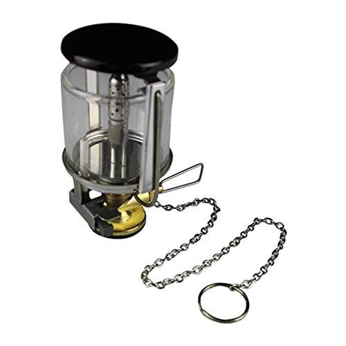 F Fityle Linterna de Gas Lámpara de Combustible Propano Al Aire Libre Luz Cálida Calentador 80LUX Engranaje de Cadena