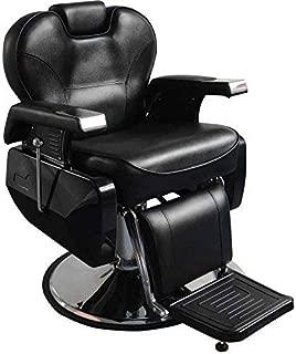 All Purpose Hydraulic Recline Barber Chair Salon Spa Beauty Hydraulic Pump Chairs Styling Equipment Black
