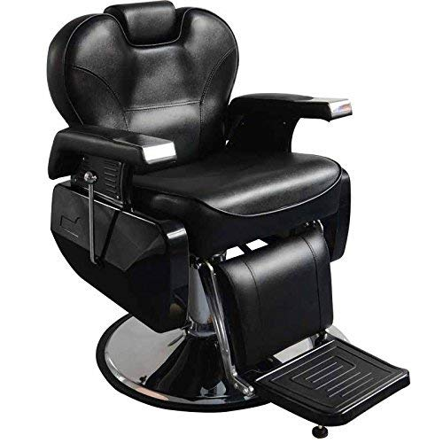 All Purpose Reclining Barber Chair Salon Spa Barberia Beauty Hydraulic Pump Barbershop Equipment