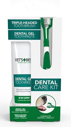 Vets Best Dentifrice Contre la Plaque/Tartre Dentales avec K