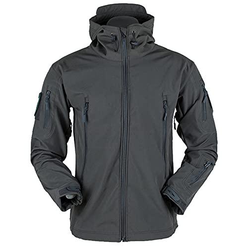 Chaqueta masculina al aire libre suave Shell Fleece hombres y mujeres a prueba de viento impermeable