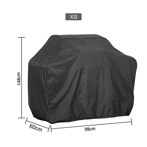 niumanery BBQ Cover Outdoor Dust Waterproof Weber Heavy Duty Grill Cover Rain Protective 4#