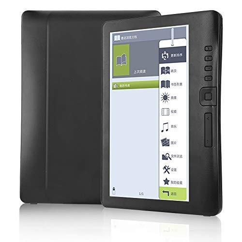 Tonysa Lettore di e-Book, Lettore di e-Book Portatile da 7 Pollici, Lettore di Libri Digitale Supporta la Scheda TF con Schermo LCD TFT colorato, Comfort di 250 CD m2, Batteria da 2100 mAh(16G)