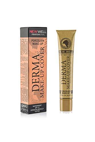 NewWell – Derma Make-Up Cover – Fond de teint avec effet porcelaine – Nickel