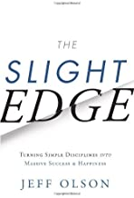 [By Jeff Olson] The Slight Edge: Turning Simple Disciplines into Massive Success and Happiness (Hardcover)【2018】by Jeff Olson (Author) (Hardcover)