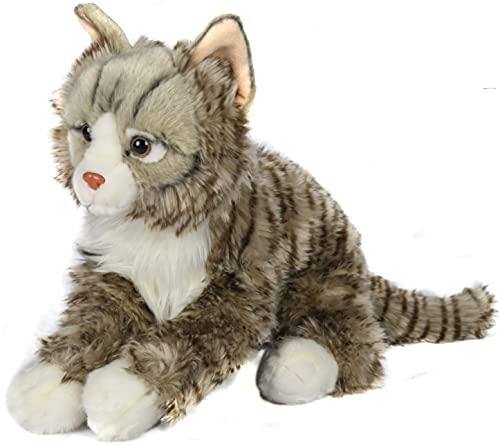 Uni-Toys - Norwegische Waldkatze - 46 cm (Länge) - Plüsch-Katze - Plüschtier, Kuscheltier