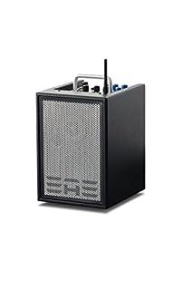 scheda elite acoustics engineering a1-4-cfb - amplificatore per chitarra a 3 canali, colore: nero