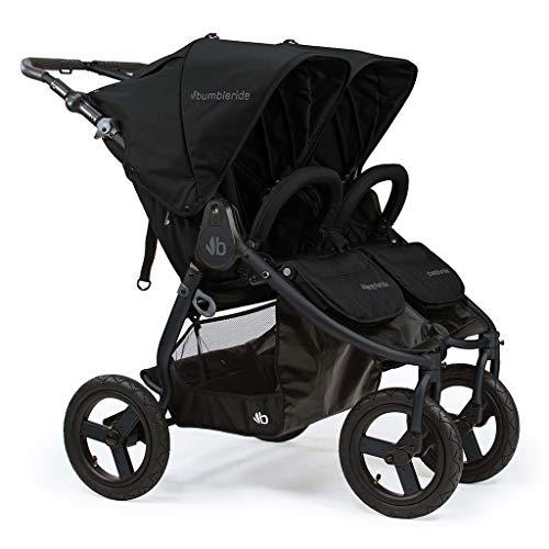 Bumbleride Indie Twin Double Stroller - Dawn Grey Mint