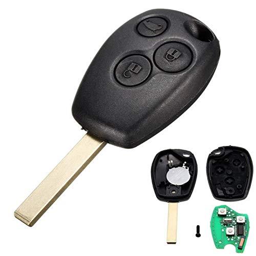 Smart keys Clé de Voiture pour Renault Clio 3 Kangoo 2 Master, Duster, Logan, Vivaro 433Mhz PCF7947