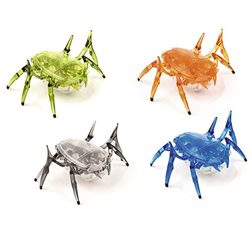 HEXBUG 477-2248-SCARAB -GL-REV2 krabbelndes Robotertierchen im Käfer-Look, farblich sortiert