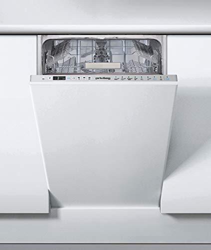 Privileg RSIO 3T224 E Vollintegrierbarer Geschirrspüler 45 cm / Push&Go / eXtra Programm / Startzeitvorwahl / Halbe Beladung / Automatik-Programm / Vollwasserschutz