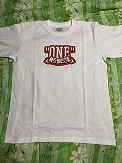 ボートレース 峰竜太 ONE Tシャツ サイズM ステッカー付き当店オリジナル缶バッジセット...