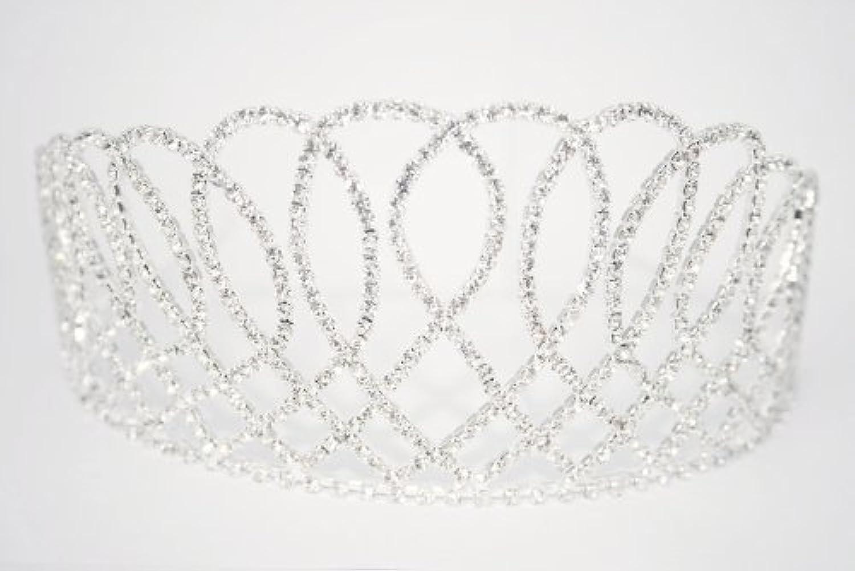 LJ Designs T002. Large 'Opulence' Crystal Tiara
